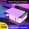 HD 1080P Portable LED Projector 10000Lumens Home Theater Cinema Multimedia USB