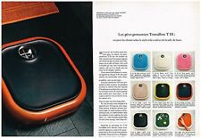 Publicité Advertising 1970 (2 pages) Les Pèses Personnes Teraillon T111