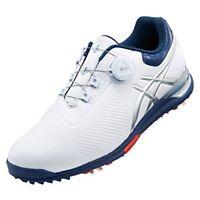 ASICS Golf Soft Spike Shoes GEL-ACE TOUR 3 BOA TGN923 White Blue US9.5(27.5cm)