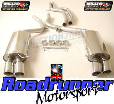 Milltek SSXAU191 Audi S5 4.2 Coupe 07-11 Exhaust System Non Resonated LOUDER Jet