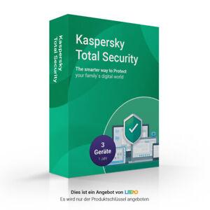 Kaspersky Total Security 2020   3 Geräte   1 Jahr   Multi-Device