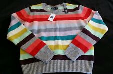 BABY GAP HOLIDAY STRIPE SWEATER GIRLS 3t 3 NWT