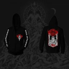 ARCHGOAT The Luciferian Crown HOODED ZIP-FRONT SWEATSHIRT  SIZE: SMALL