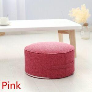 Sponge Seat Cushion Chair Round Patio Tatami Meditation Pillow Yoga Floor Decor