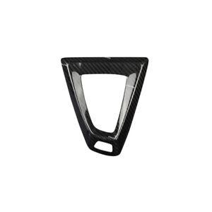 Carbon Fiber Console Gear Shift Knob Panel Cover Trim Fit For BMW M2 M3 M4 M5