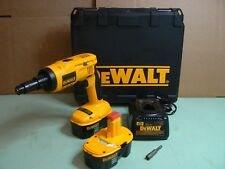 DEWALT 18V XRP  CORDLESS LIGHT GAUGE STEEL SCREWDRIVER MODEL DC668KA