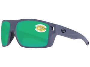Costa Del Mar Diego Matte Gray / Green Mirror Polarized 580P - BRAND NEW