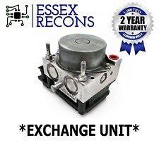 "Vauxhall Corsa D ABS Pump + ECU - FE 0265800796 0265232288 13282282 ""EXCHANGE"""