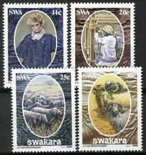 South West Africa 1986, Industry, Whool industry set VF MNH, Mi 592-595