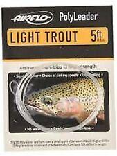 Airflo hundimiento rápido ligero TRUCHA Polyleader 5ft / Pesca con mosca