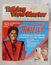 Talking View Master Electronic 3D Viewer Michael Jackson 1984 Sound Track