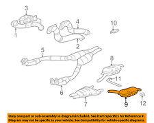 BMW OEM 1995 740i 4.0L-V8-Muffler 18121742961