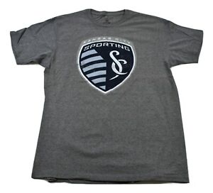 GIII By Carl Banks Mens MLS Sporting Kansas City KC Soccer Shirt New L, XL, 2XL