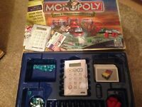 MONOPOLY HERE & NOW Electronic Banking Edition Spares Movers Cards Board Game
