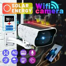 1080P Solar Powered Energy Security Camera Wireless WiFi Hd Outdoor Surveillance