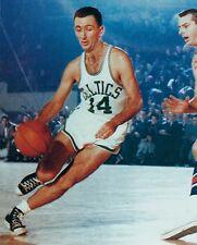 BOB COUSY 8X10 PHOTO BOSTON CELTICS BASKETBALL NBA DRIBBLING PICTURE