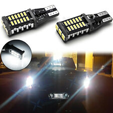 2x White Error Free Backup Light Bulbs For Chevrolet Silverado Colorado Suburban