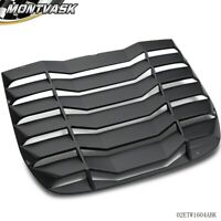 ABS Rear Window Louvers Sun Shade Cover For 2009-2019 NISSAN 370Z Matte Black