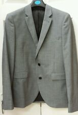 "BNWOT Smart Grey Slim Fit Suit : 36"" Chest, 32"" Waist, 30"" Leg"