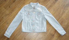 New Look light blue denim jacket for women size UK 14 EUR 42 jeans