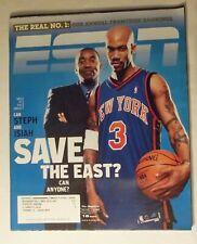 February 16, 2004 ESPN Magazine, Stephen Marbury, Adidas Muhammad Ali Poster