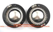 2PCS Replacement Aluminum Diaphragm Fit For Altec Lansing 604, 802, 806 8 Ohm