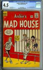 ARCHIE'S MADHOUSE #22 CGC 4.5 CR/OW PAGES // 1ST SABRINA THE TEENAGE WITCH 1962