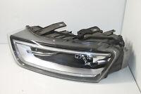 #8690 Audi Q3 2014 Rhd Anteriore Sinistro Completo Faro Xenon 8U0941005A