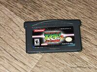 Teenage Mutant Ninja Turtles 2 Battle Nexus TMNT Nintendo Game Boy Advance GBA