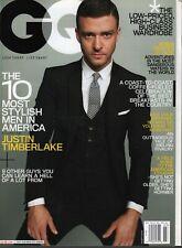Gq Hombres Revista Marzo 2009 Justin Timberlake 031120AME