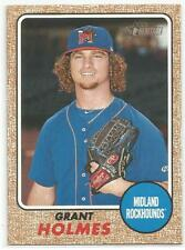 Grant Holmes Oakland A's 2017 Topps Heritage Minors
