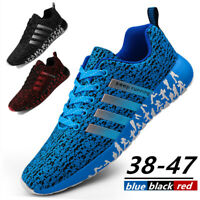 Men's Casual Sneakers Lightweight Gym Tennis Shoes Sport Athletic Road Running