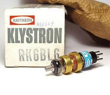 Raytheon Reflex Klystron Tube RK6BL6 / RK 6 BL6, 1.5 to 6.5 GHz Amplifier, NOS