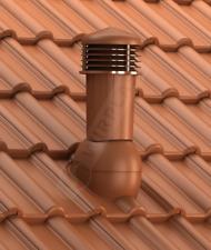 Dachziegel Dachlüfter Lüfter  DN125 für Braas Frankfurter Entlüfterkamin