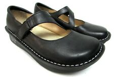 Alegria Day-601 black leather mary jane shoes comfort womens size 37 7