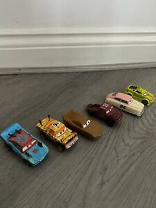 DISNEY PIXAR CARS 3 DIECAST VARIOUS BUNDLE X 6