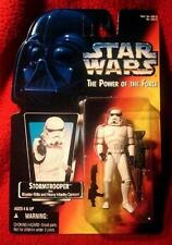 Star Wars Power of the Force: Stormtrooper (Noc) Free Shipping with Bin *