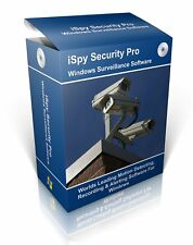WEBCAM - Windows Security Camera Software on CD -  Win 7 Win 8 & 10 on CD-Rom