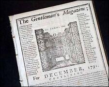 W.A. MOZART (Composer): 1791 English newspaper obituary