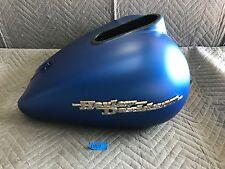 2007 Harley-Davidson FLHX Street Glide Touring Gas Tank Blue Denim