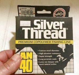 Silver Thread AN 40 Premium Copolymer Fishing Line 25# 250 yds New