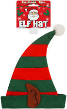 Adult Elf Hat With Ears Men's/Women's Christmas Xmas Party Hat Fancy Dress