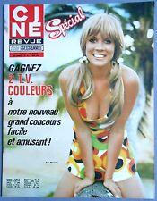 ►CINE REVUE 18/1972-RAQUEL WELCH-FARAH DIBA-LIZA MINNELLI-LES MARX BROTHERS...