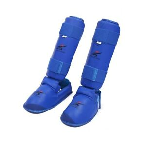 Leg Hand Foot Protector Taekwondo Karate Boxing Kit Shin Guard MMA Unisex