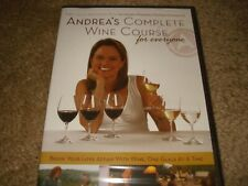 Andrea's Complete Wine Course for Everyone (Dvd, 2005) Brand New