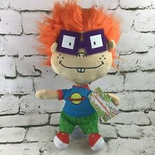 """Nickelodeon Rugrats Chuckie Finster Plush 12"""" Stuffed Doll Cartoon Character Toy"""