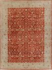 Vintage Vegetable Dye Egyptian Oushak Oriental Area Rug Wool Hand-Knotted 8x10