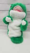 "Geico Gecko Hand Puppet 13"" Advertising Stuffed Animal Plush Go Fish Trade"
