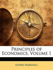 Principios De Economía, volumen 1 por Marshall, Alfred