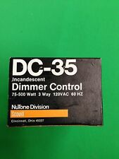 Nutone DC-35 Incandescent Dimmer Control